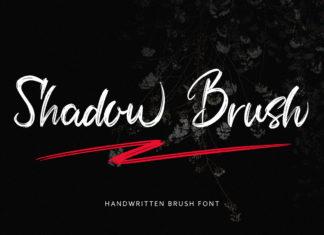 Free Shadow Brush Font