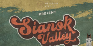 Free Sianok Valley Retro Font
