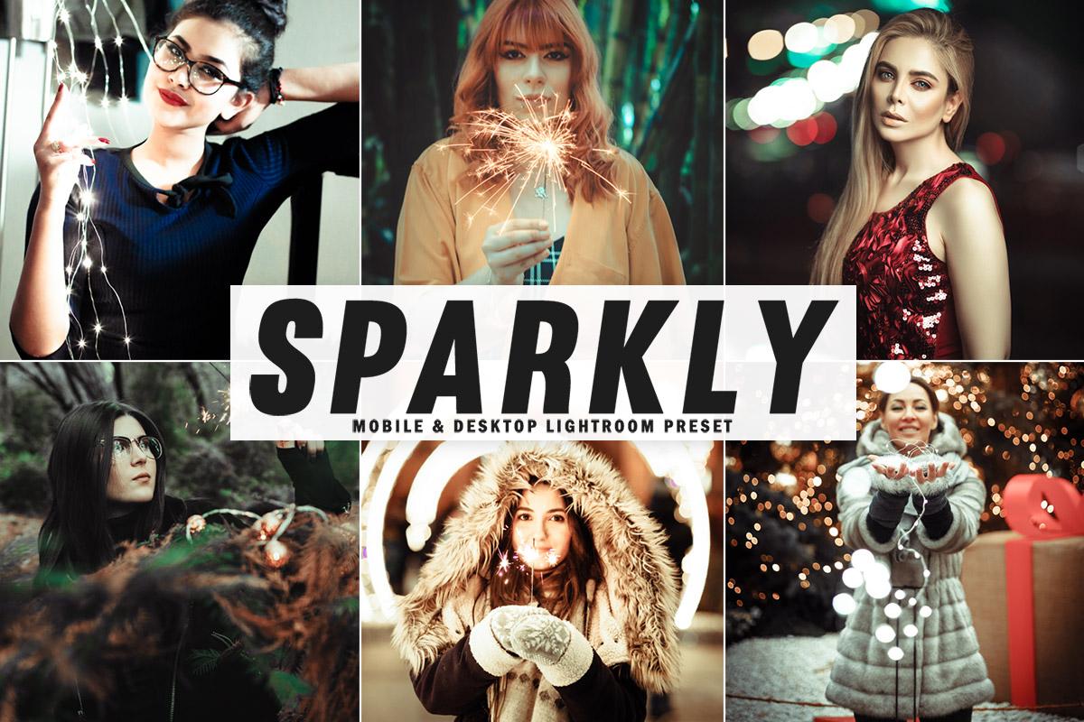 Free Sparkly Lightroom Preset