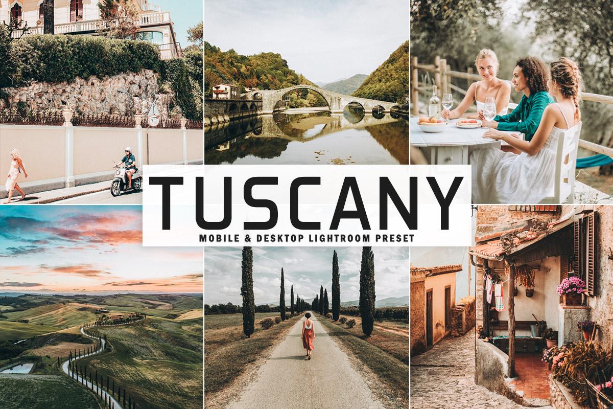 Free Tuscany Lightroom Preset