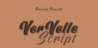 Free Vervelle Script Font