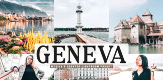Free Geneva Lightroom Preset