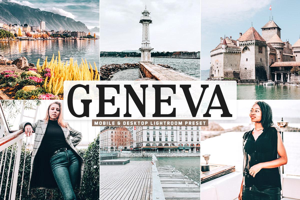 Free Geneva Lightroom Preset