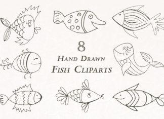 Free Handmade Fish Cliparts