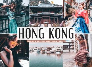 Free Hong Kong Lightroom Preset