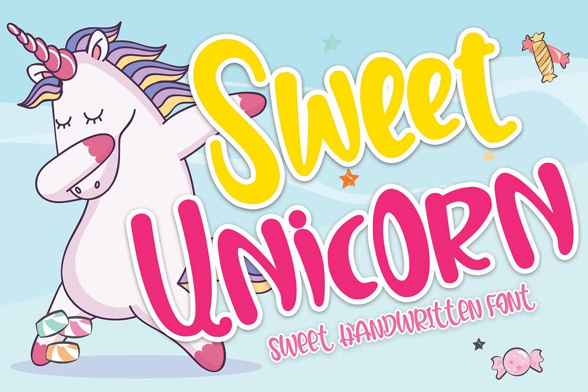 Free Sweet Unicorn Display Font