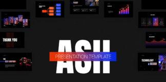 Free Ash Presentation Template