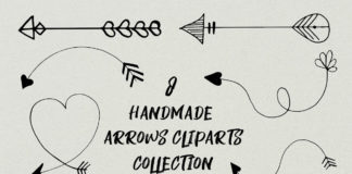 Free Handmade Arrows Cliparts Collection