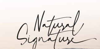 Free Natural Signature Font