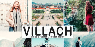 Free Villach Lightroom Preset