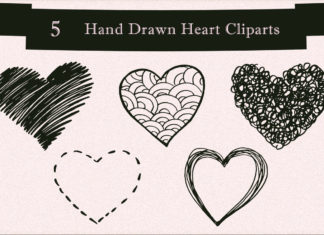 Free Handmade Heart Cliparts