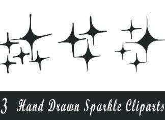 Free Handmade Sparkle Cliparts