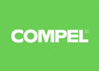 Free Compel Display Font