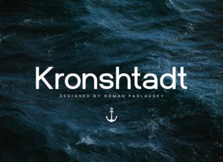 Free Kronshtadt Sans Serif Font