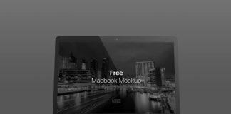 Free Macbook Screen Mockup