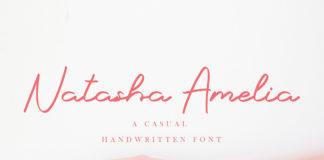 Free Natasha Amelia Script Font