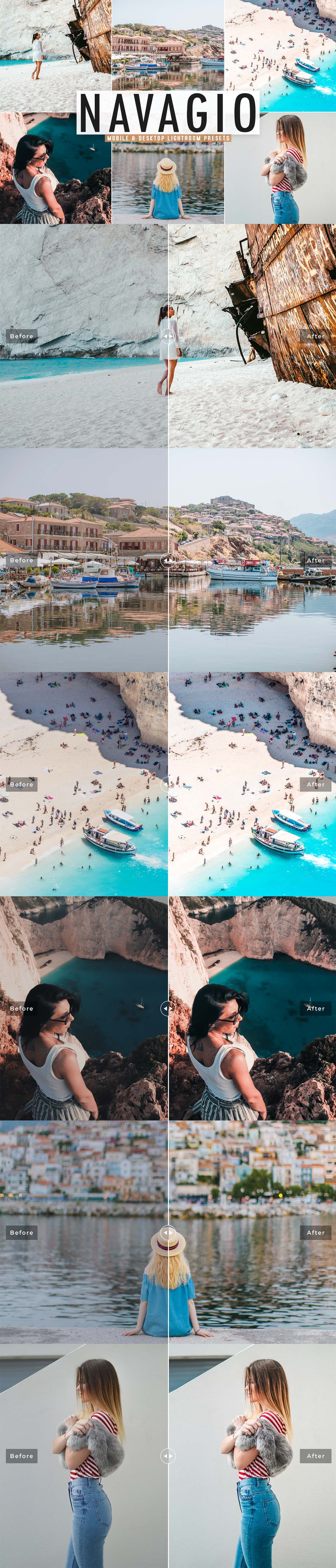 Free Navagio Lightroom Preset