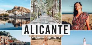 Free Alicante Lightroom Presets