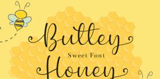 Free Buttey Honey Script Font