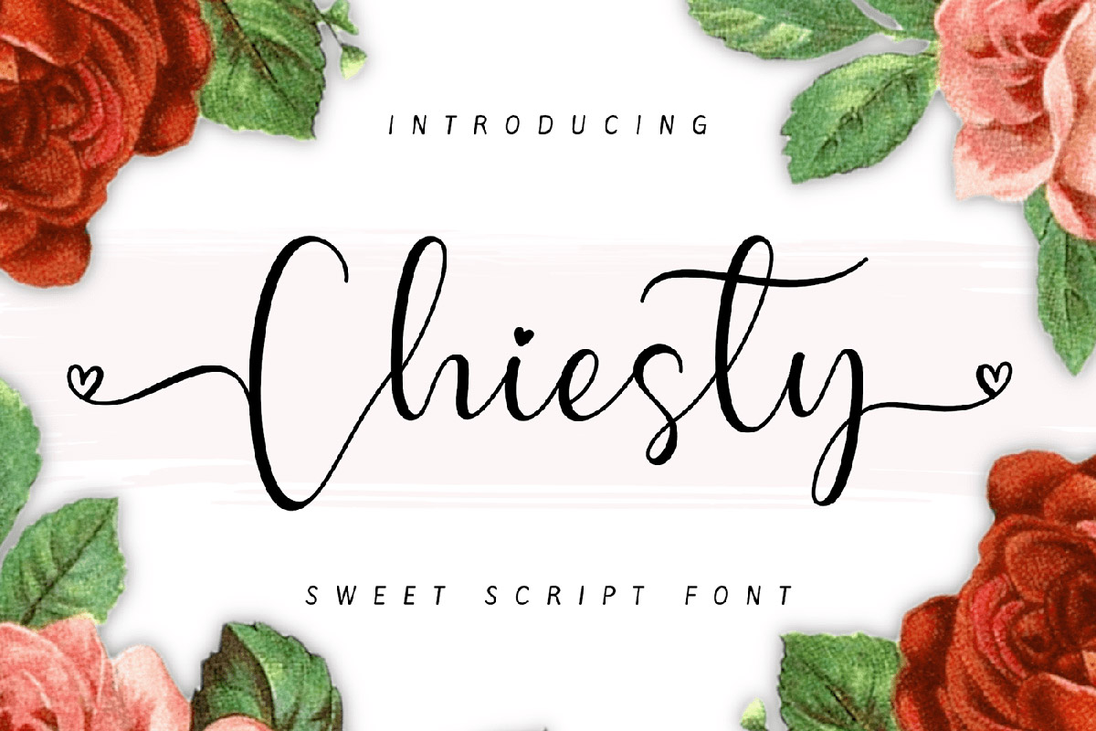 Free Chiesty Script Font