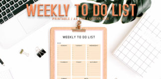 Free Modern To Do List Printable V4