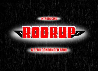 Free Rodrup Semi Bold Font
