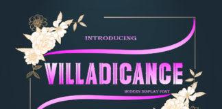 Free Villadicance Display Font