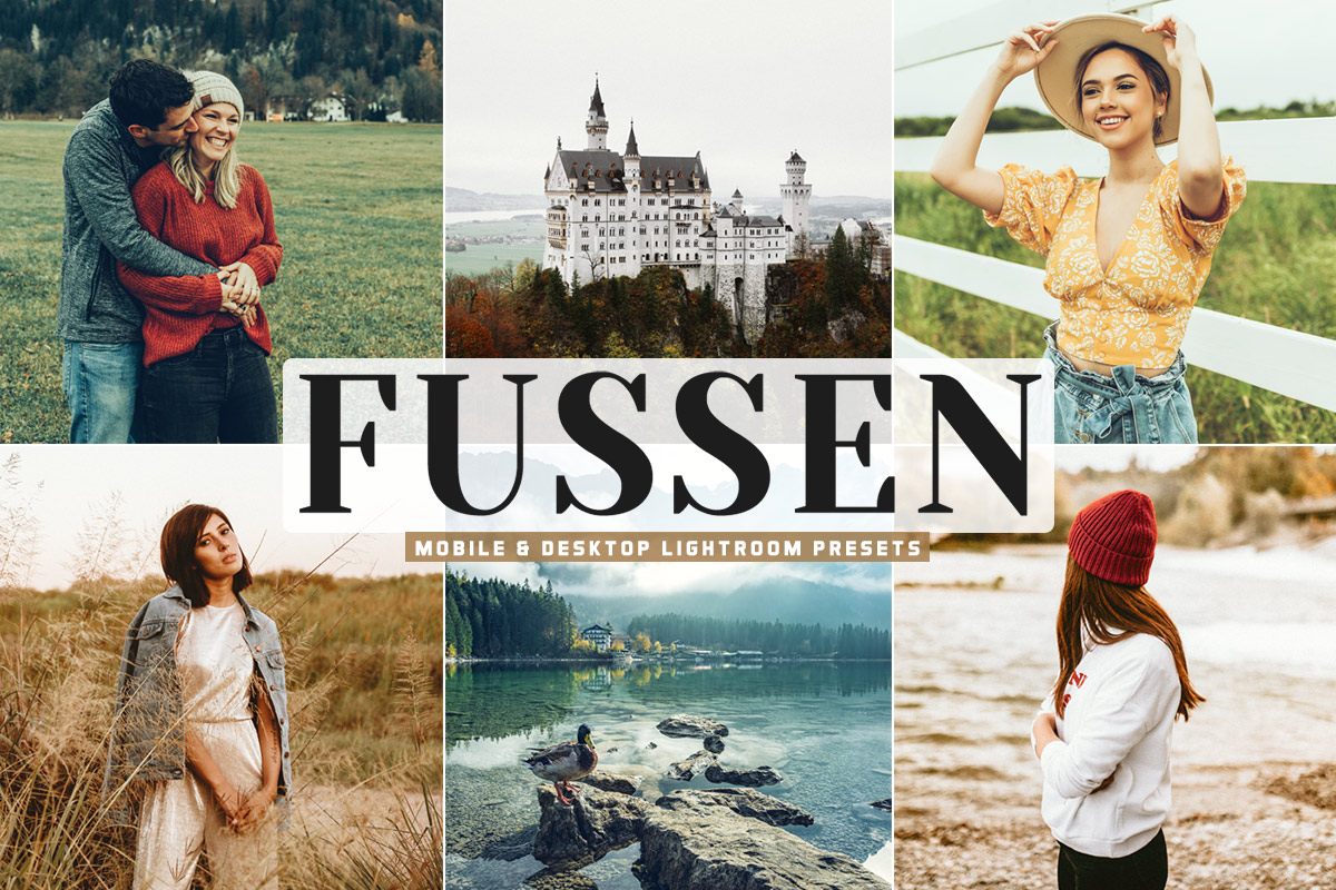 Free Fussen Lightroom Presets