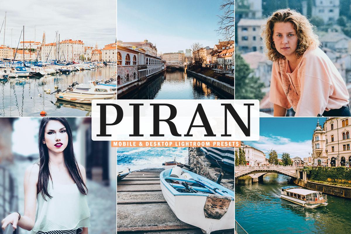 Free Piran Lightroom Presets
