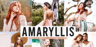 Free Amaryllis Lightroom Presets