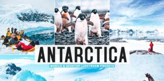 Free Antarctica Lightroom Presets