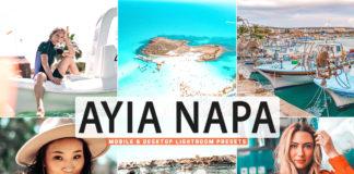 Free Ayia Napa Lightroom Presets