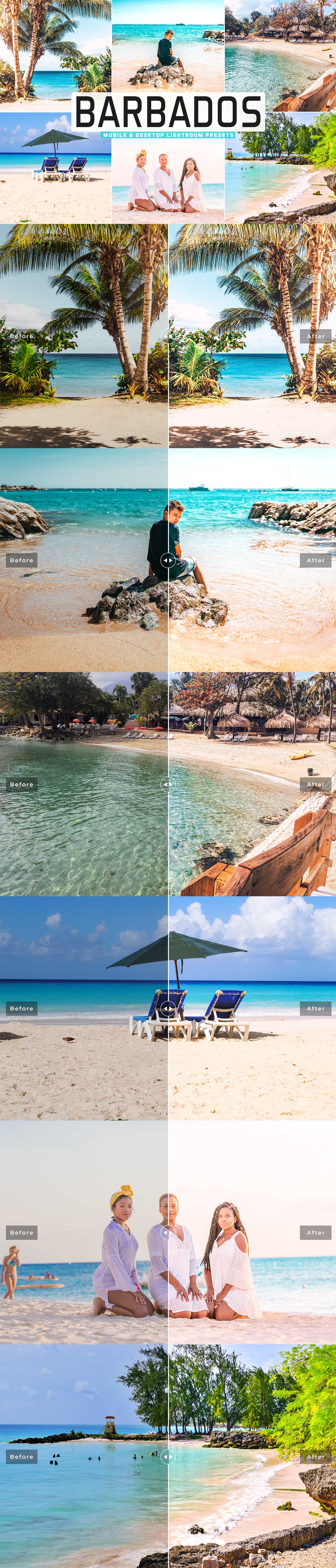 Free Barbados Lightroom Presets