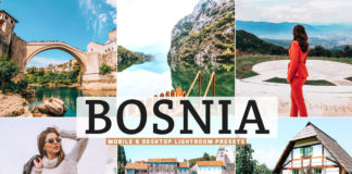 Free Bosnia Lightroom Presets