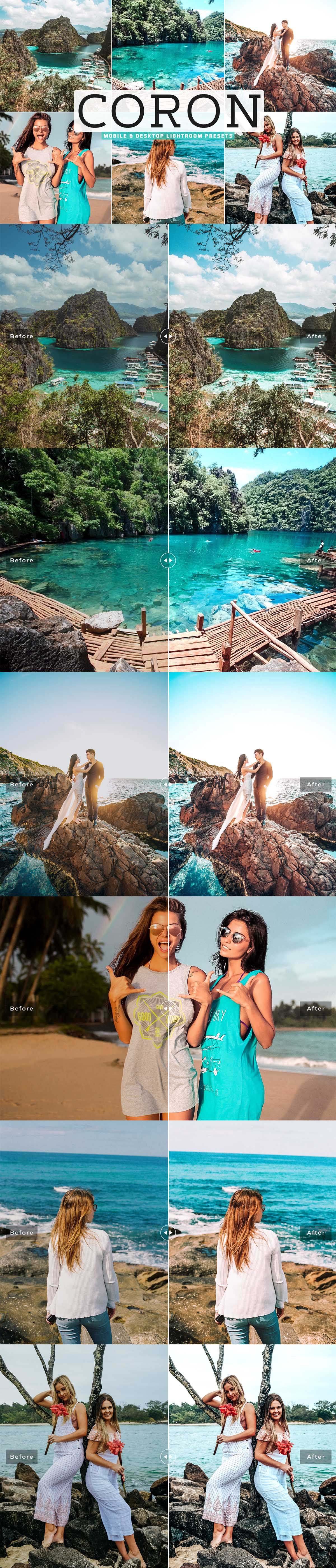 Free Coron Lightroom Presets