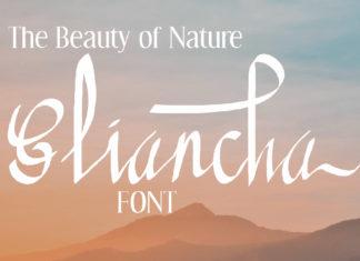 Free Gliancha Script Font