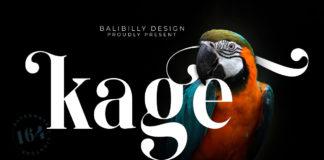 Free Kage Serif Font