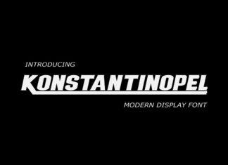 Free Konstantinopel Display Font