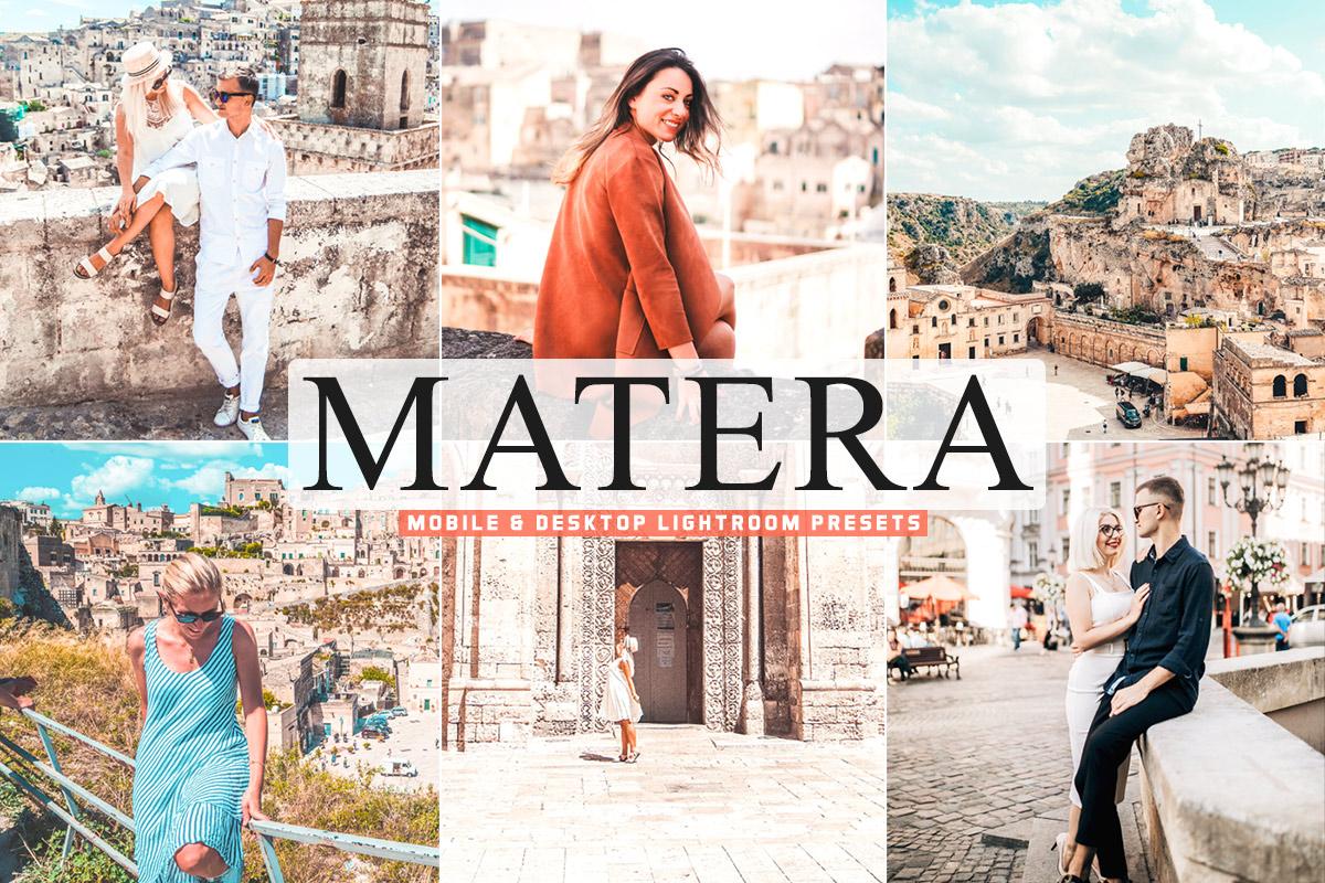Free Matera Lightroom Presets
