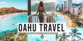 Free Oahu Travel Lightroom Presets