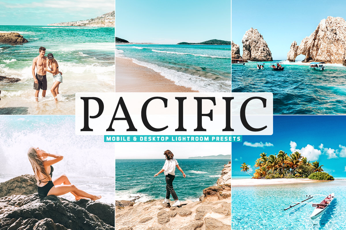 Free Pacific Lightroom Presets