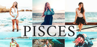 Free Pisces Lightroom Presets