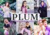 Free Plum Lightroom Presets
