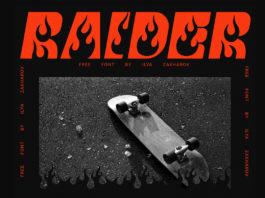 Free Raider Fancy Font