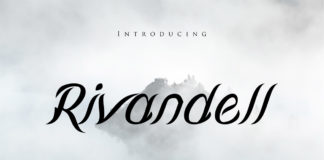 Free Rivandell Calligraphy Font