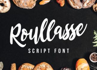 Free Roullasse Script Font