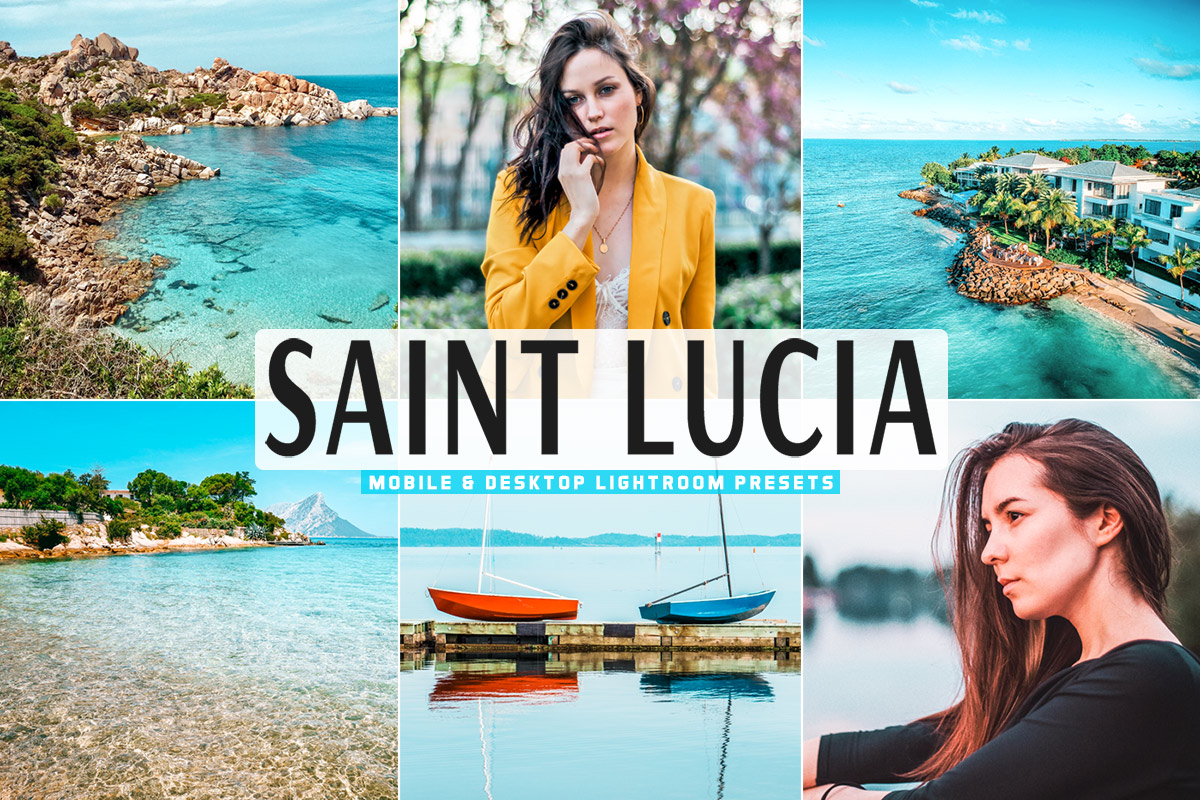 Free Saint Lucia Lightroom Presets