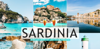 Free Sardinia Lightroom Presets