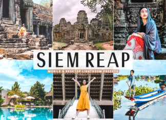Free Siem Reap Lightroom Presets