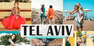 Free Tel Aviv Lightroom Presets
